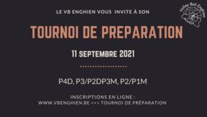 Tournoi de préparation VB Enghien