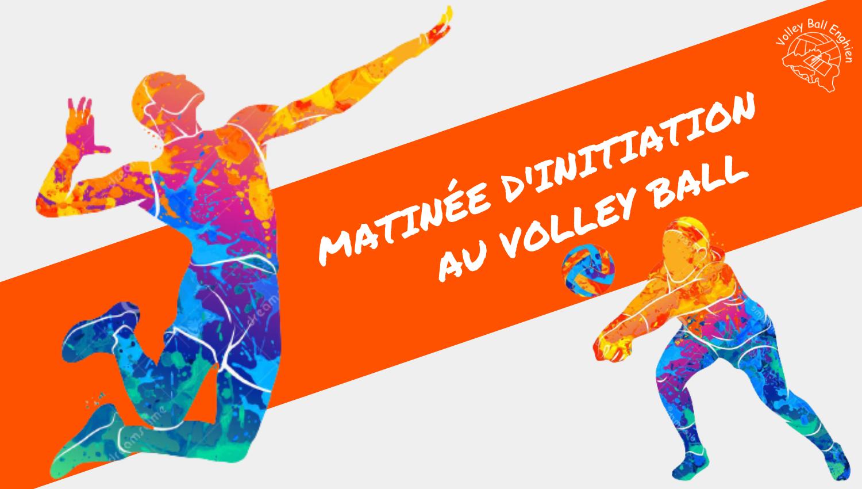 Matinée d'initiation au volley ball